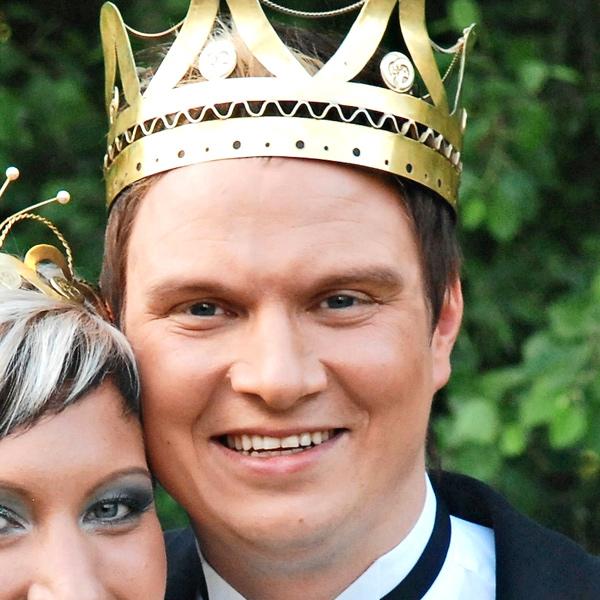 Jukka Hallikainen, tangokuningas vuodelta 2008.