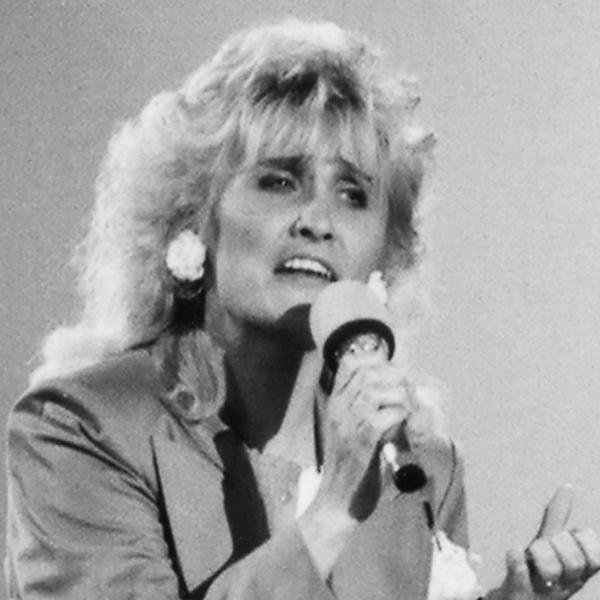 Kirsi Rissanen, tangokuningatar vuodelta 1988.