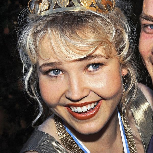 Marita Taavitsainen, tangokuningatar vuodelta 1995.