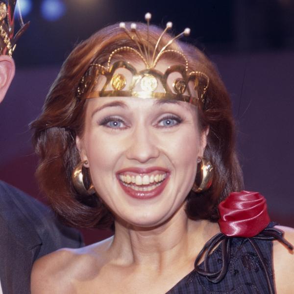 Saija Varjus, tangokuningatar vuodelta 1996.