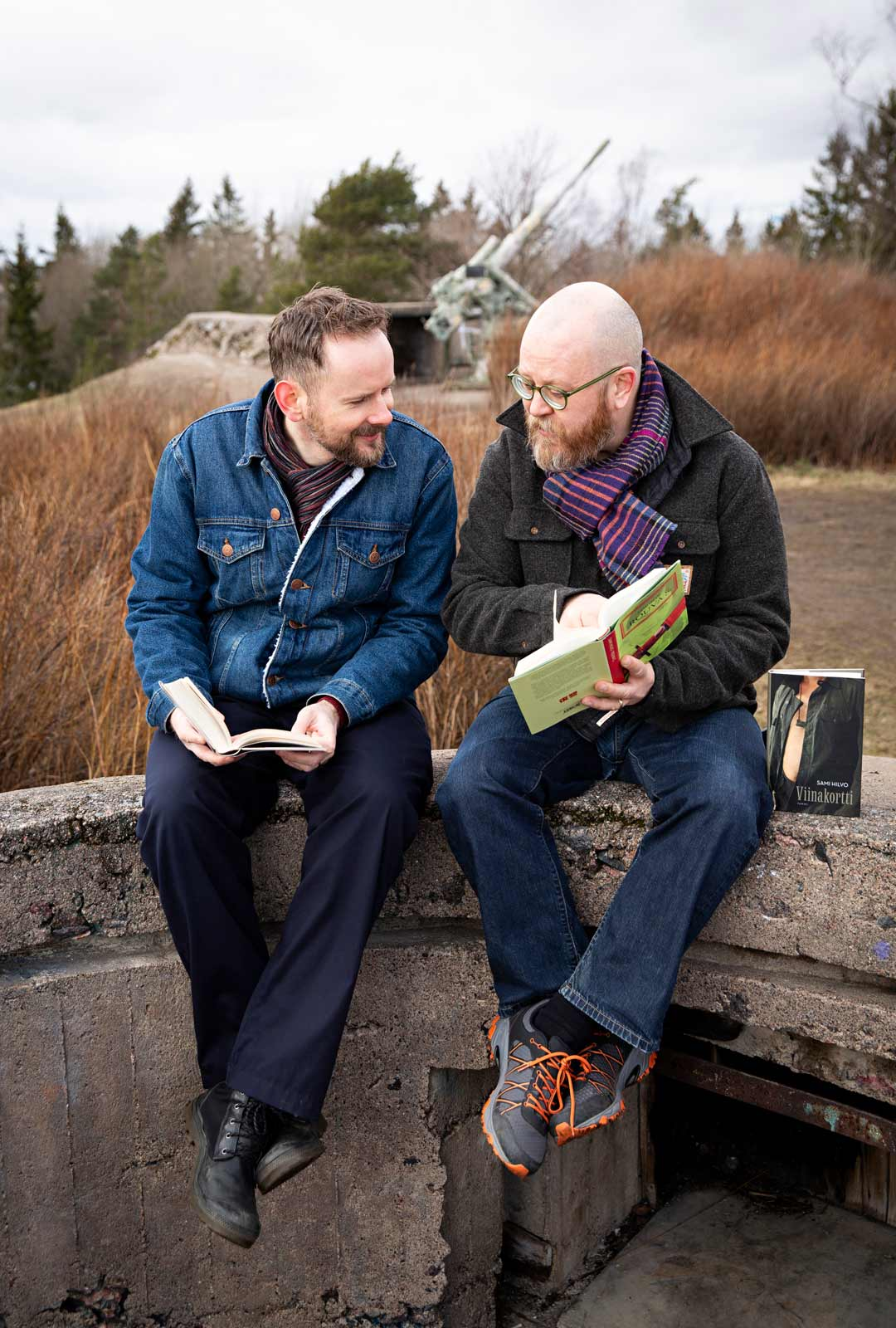 Kirja ja suomen kieli yhdistivät Marekin ja Samin. Suomi on alusta pitäen ollut heidän kotikielensä.