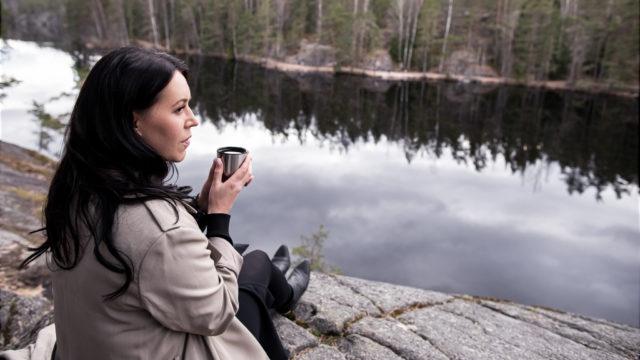 Suomalainen luonto on tärkeä Anne-Mari Pahkalalle.