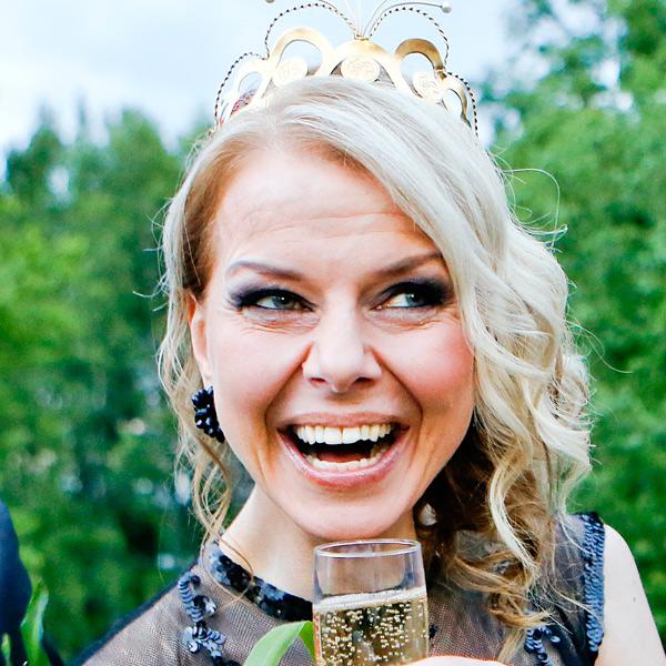 Susanna Heikki, tangokuningatar vuodelta 2015.