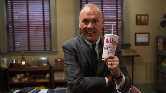 Michael Keaton esittääRay Krocia elokuvassaThe Founder.