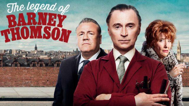 Robert Carlyle näyttelee pääosaa elokuvassaThe Legend of Barney Thomson.