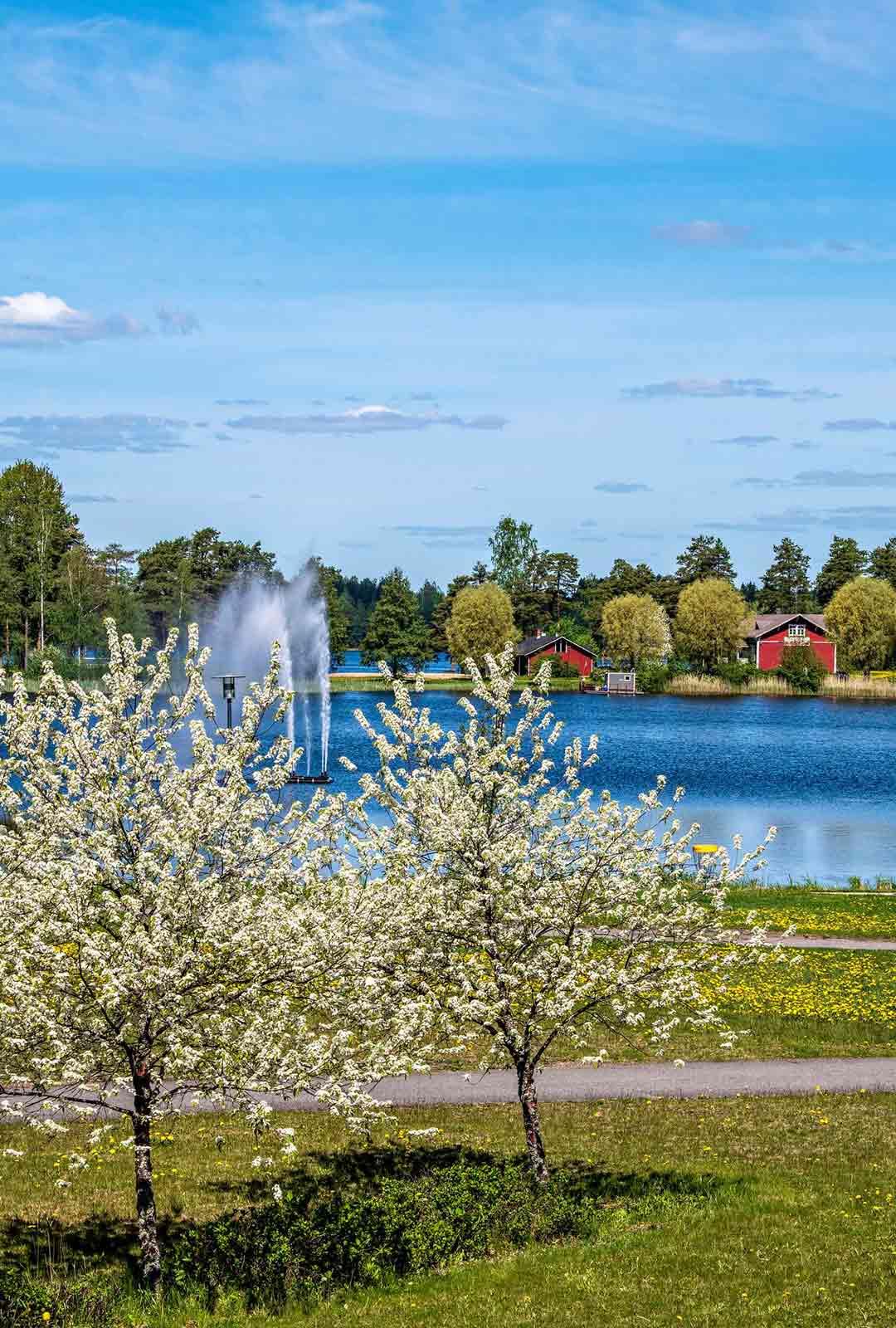 Pyhäveden lahti ulottuu aivan Mäntyharjun keskustaan saakka. Moni kesäasukas käyttääkin kylälle saapumiseen mieluummin venettä kuin autoa. Mäntyharju kuuluu Suomen suosituimpien kesämökkikuntien joukkoon.