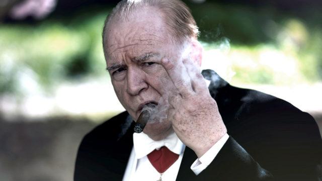 Brian Cox elokuvassaChurchill.