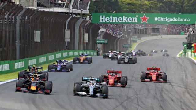 Valtteri Bottas, Lewis Hamilton ja Max Verstappen taistelevat mestaruudesta, Grand Prix