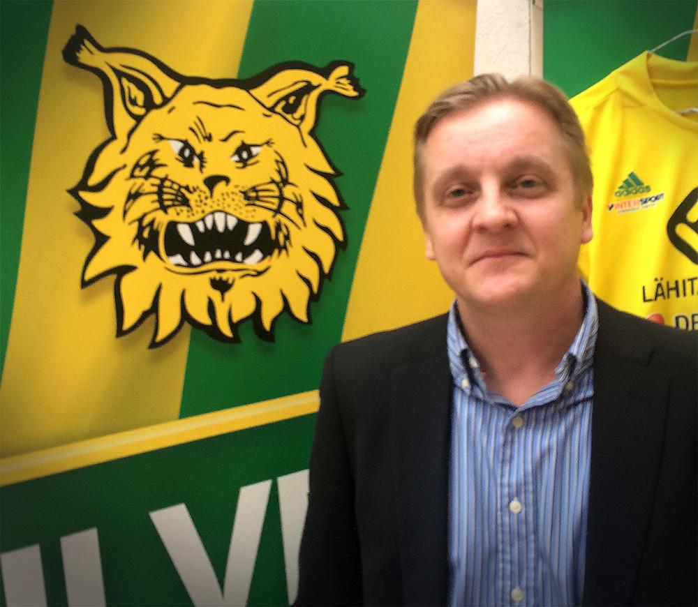 Jarkko Wiss on Ilveksen pitkäaikainen valmentaja.