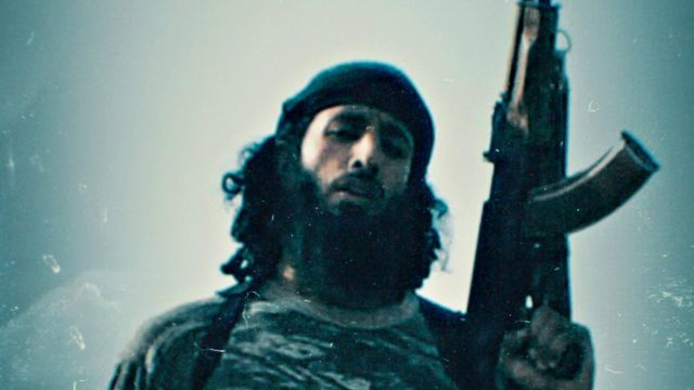 Mohammed Emwazi dokumenttiprojektissa Jihadi John.