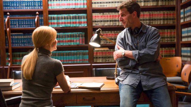 Katseeseen kätketty -elokuvan näyttelijä Nicole Kidman ja ohjaaja Billy Ray.