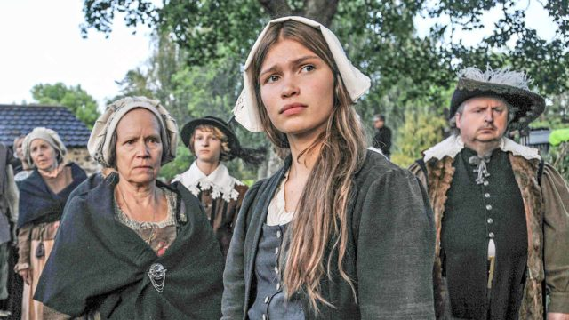 Tuulia Eloranta näyttelee Tulen morsian -sarjan keskushenkilöä Annaa.