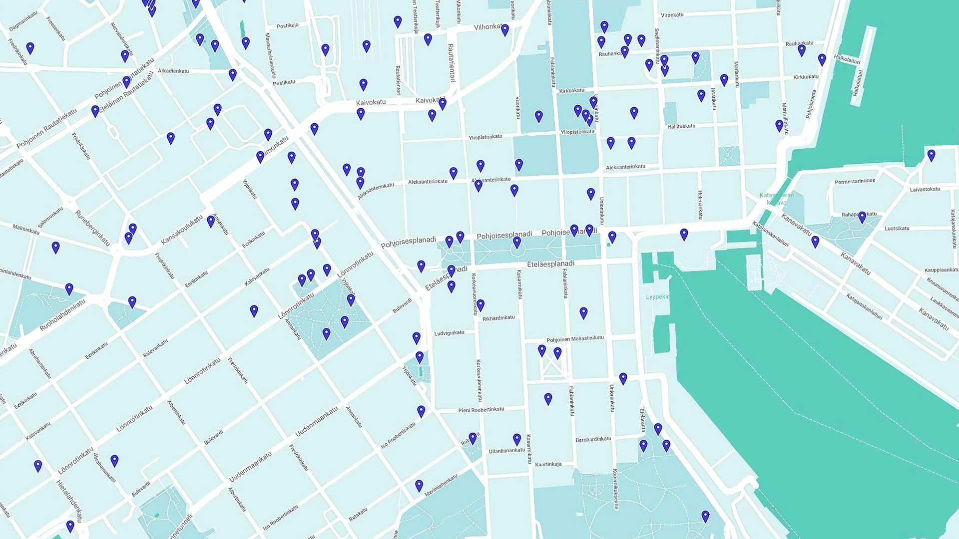 Helsinki kuten moni muukin kaupunki on täynnä taidetta, johon tutustua.