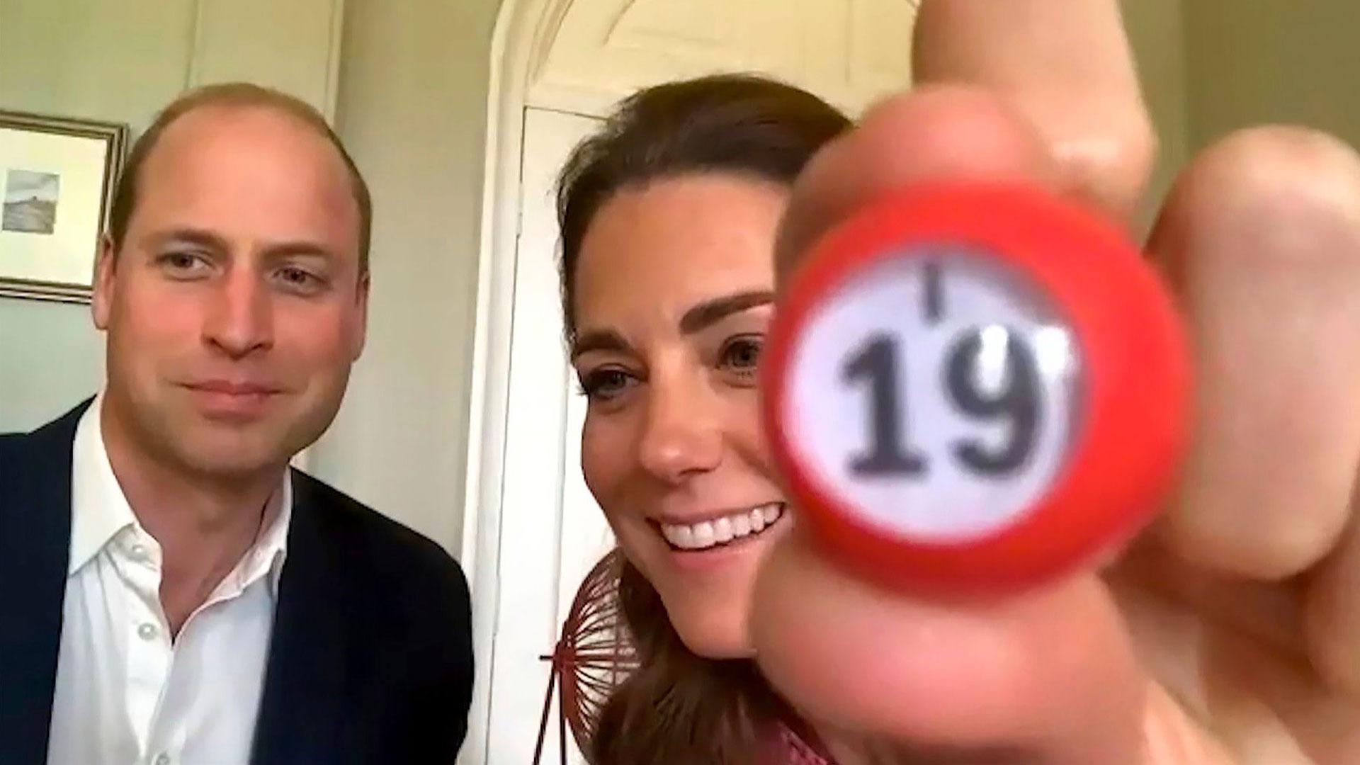 William ja Catherine ovat korona-aikana osallistuneet etäyhteyden avulla monenlaisiin tempauksiin ja tsempanneet kansalaisia.