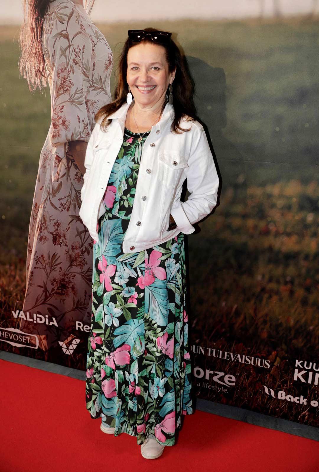 Näyttelijä Riitta Havukainen on viettänyt lomaa.