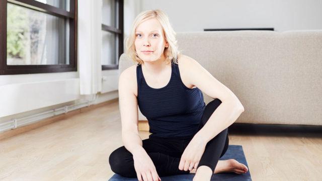 Riikka Vilminko-Heikkinen on opetellut pitämään migreeninsä tasapainossa.