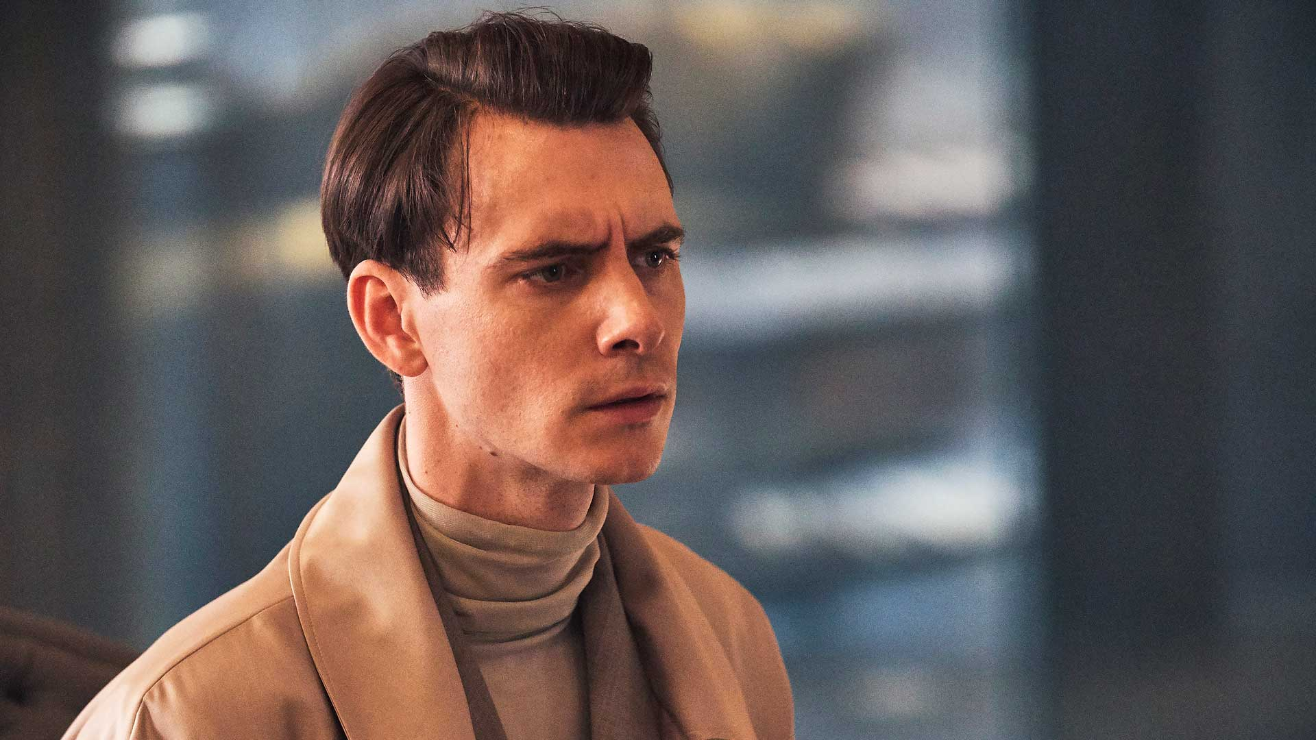 Harry Lloyd sarjassa Brave New World.