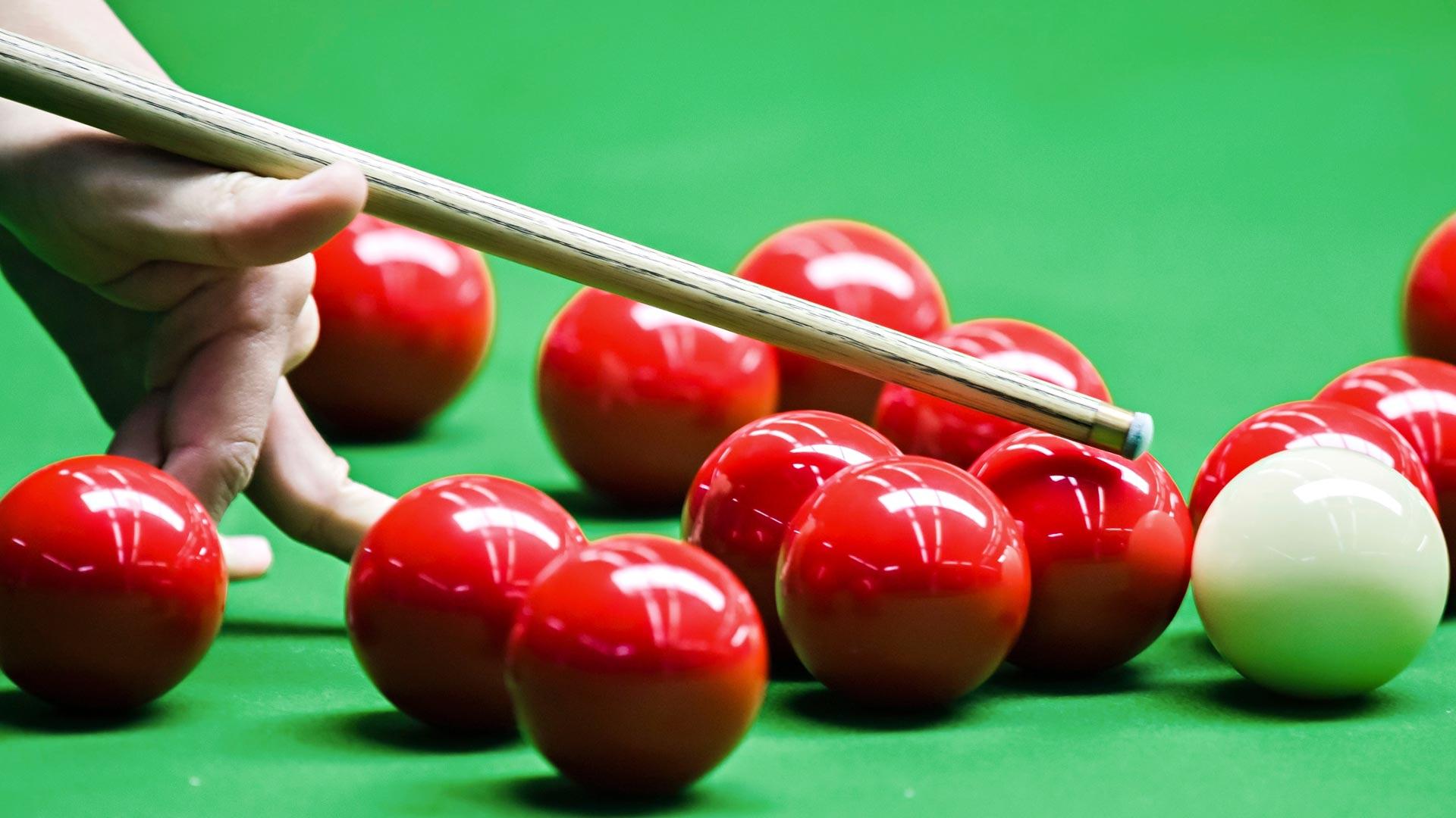 Snookerin MM-kilpailut.