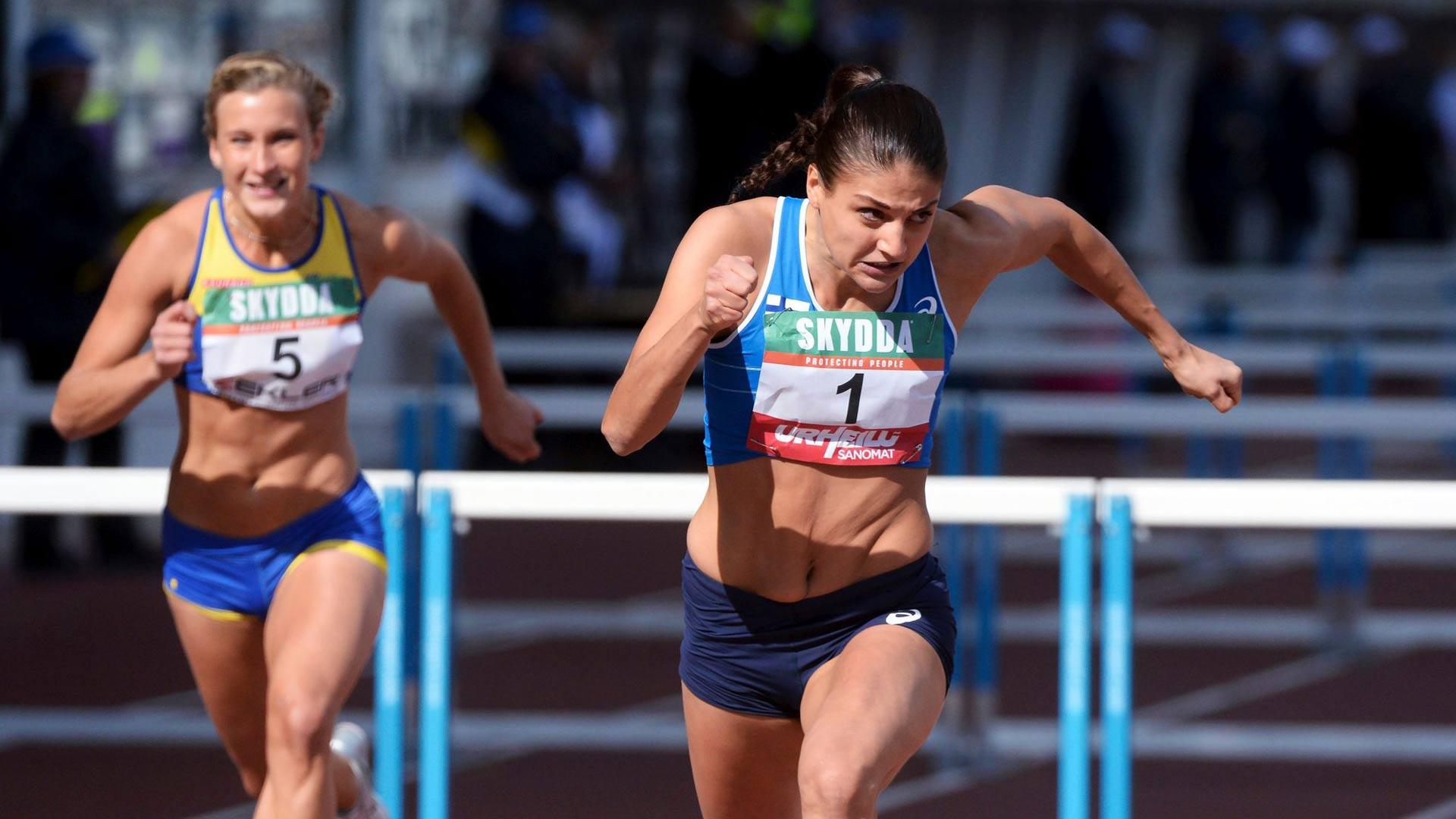 Olympiastadionilla on kilpailtu monet kiihkeät Suomi-Ruotsi-maaottelut. Suomi otti naisten pika-aidoissa kolmoisvoiton Nooralotta Nezirin johdolla vuonna 2014.
