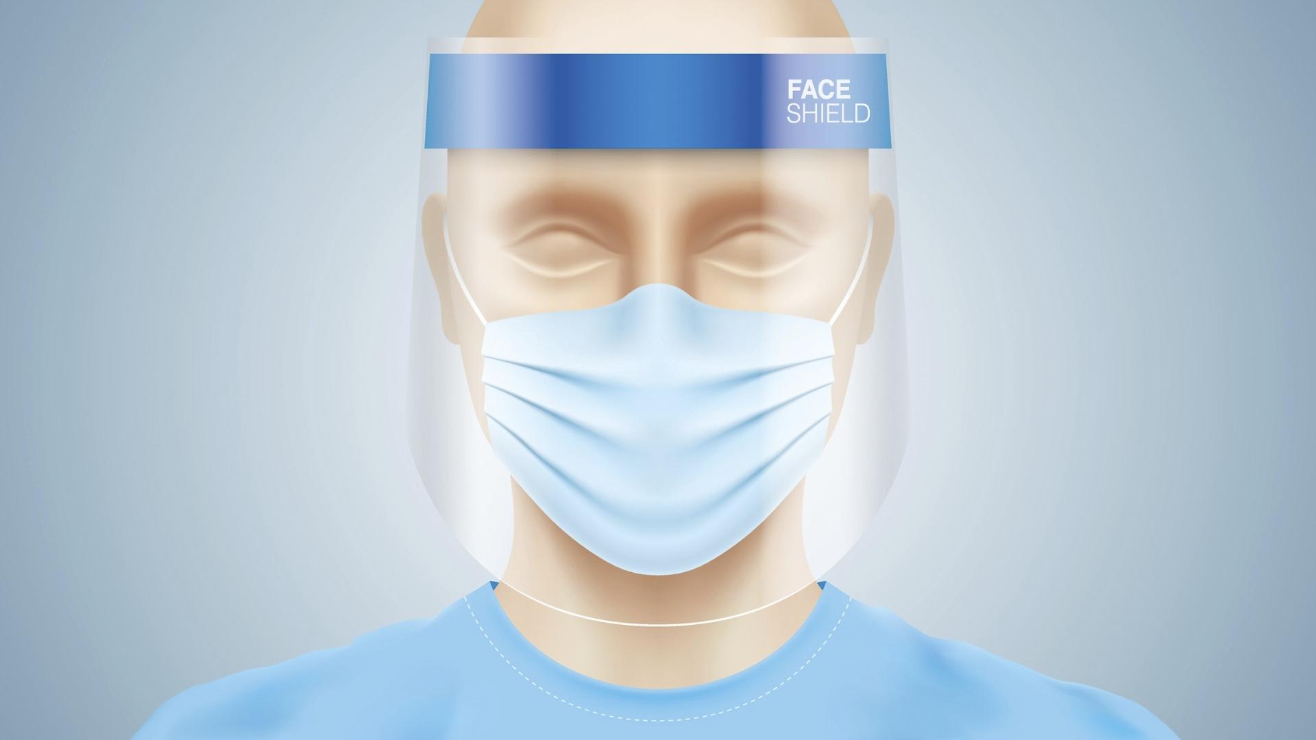 Visiiri suojaa kantajaansa koronalta pelkkää maskia paremmin. Qatarin koneissa visiiri pitää olla kasvoilla lennolle tullessa ja lennolta poistuessa.