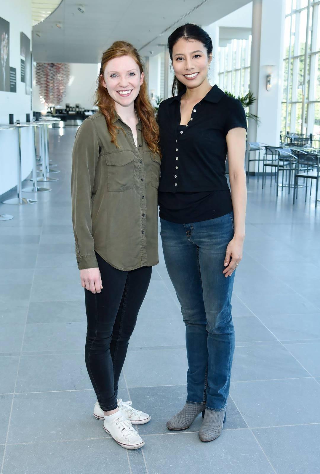 Ensitanssijat Abigail Sheppard ja Hanako Matsune.