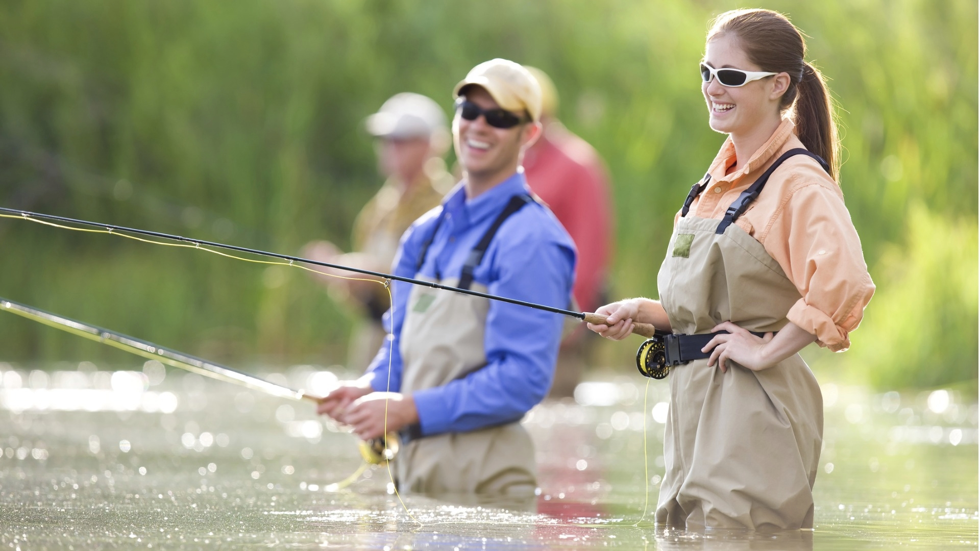 Kyselyyn vastannut nainen kertoi napanneensa kalan sijasta kosinnan.