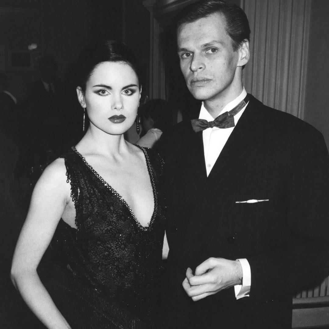 Jorma Uotinen ja Helena Lindgren tammikuussa 1982.