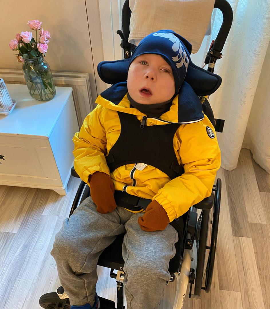 Meidän Matias -blogissa isä Mika Ahonen kertoo arjestaan erityislapsensa Matiaksen kanssa.