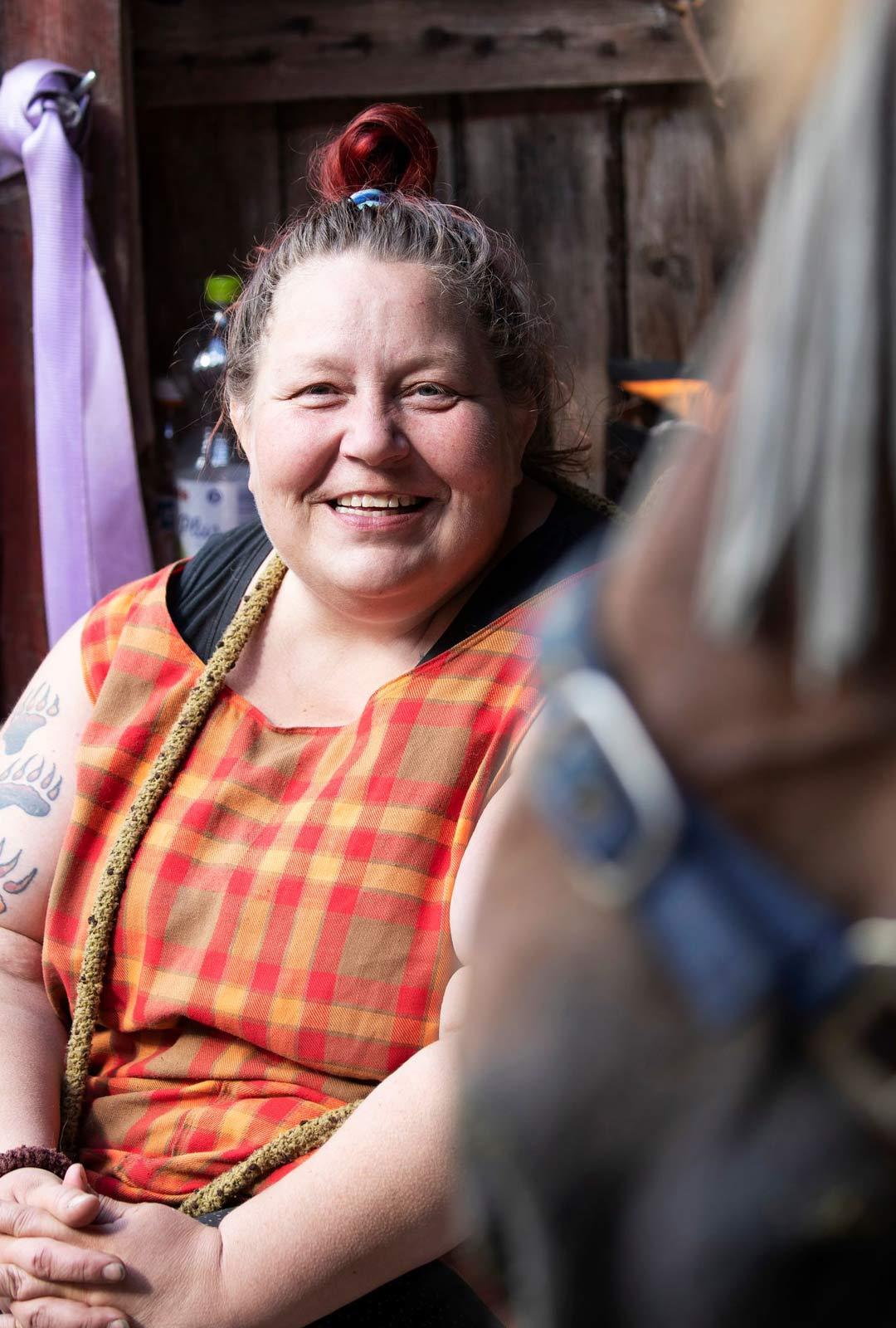 Tanja Lundstenille Uuraksen hankinta avasi aivan uudenlaisen elämänvaiheen maalla.