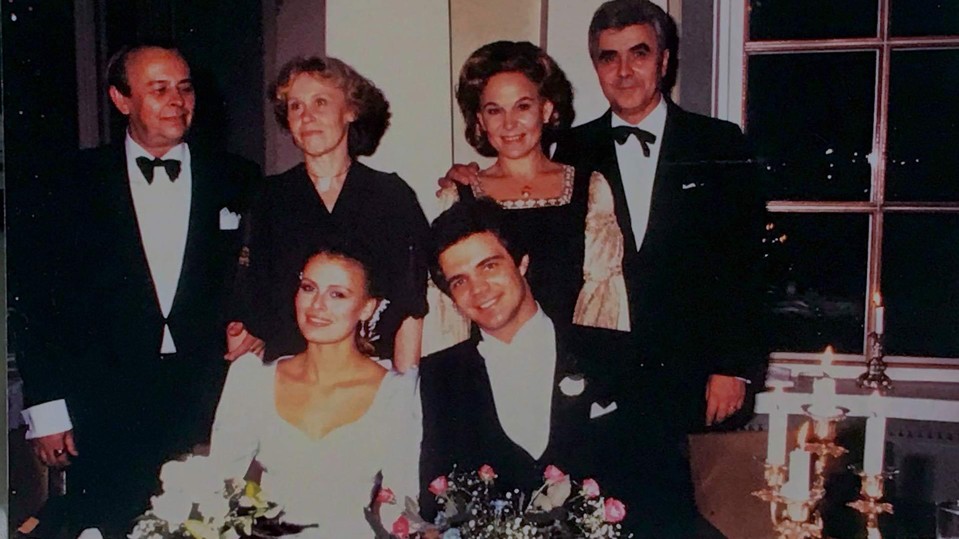 Hääpäivä 1980 Arto Hietanen ja Anne Pohtamo