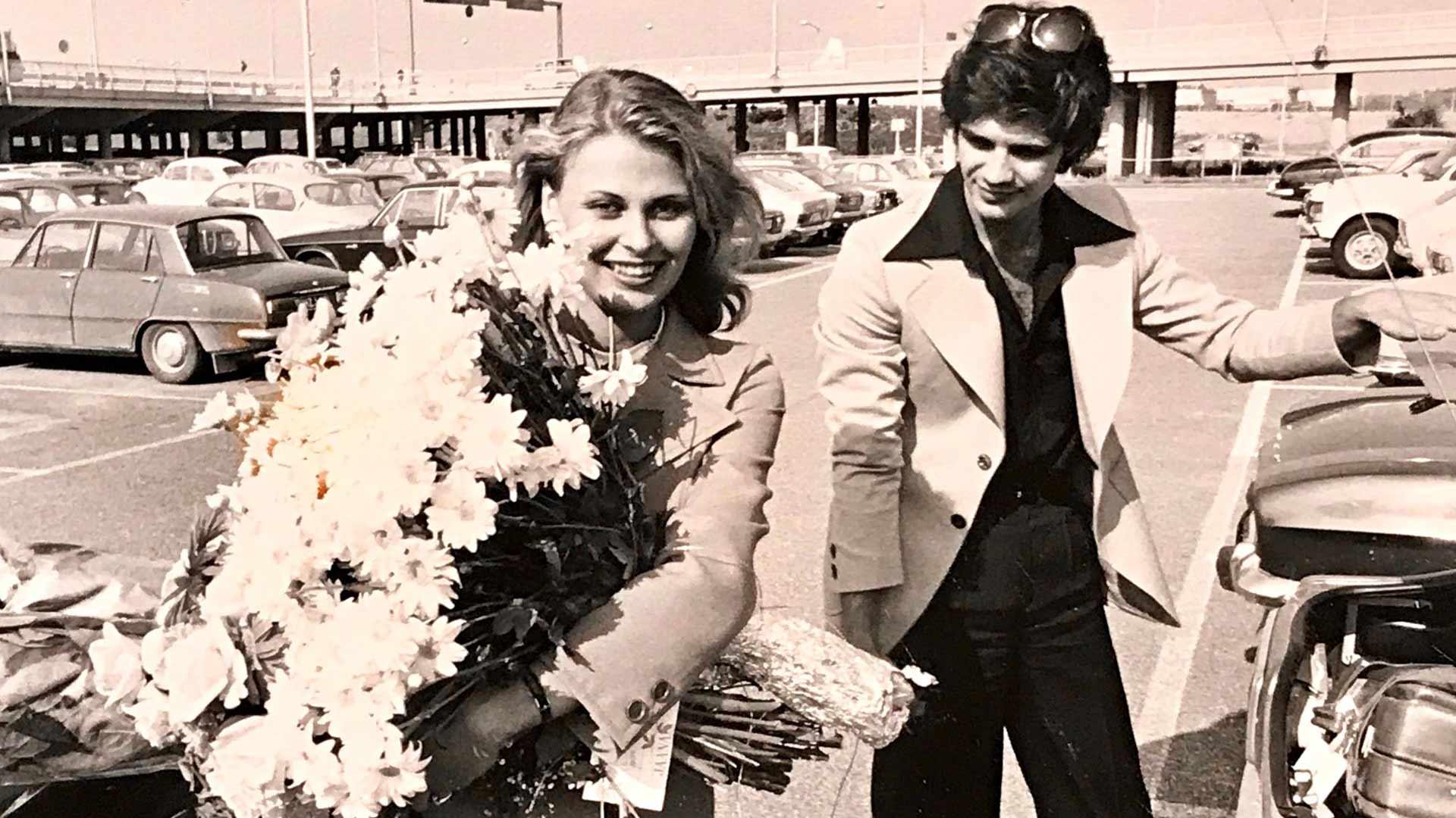Anne Pohtamo ja Arto Hietanen vuonna 1975