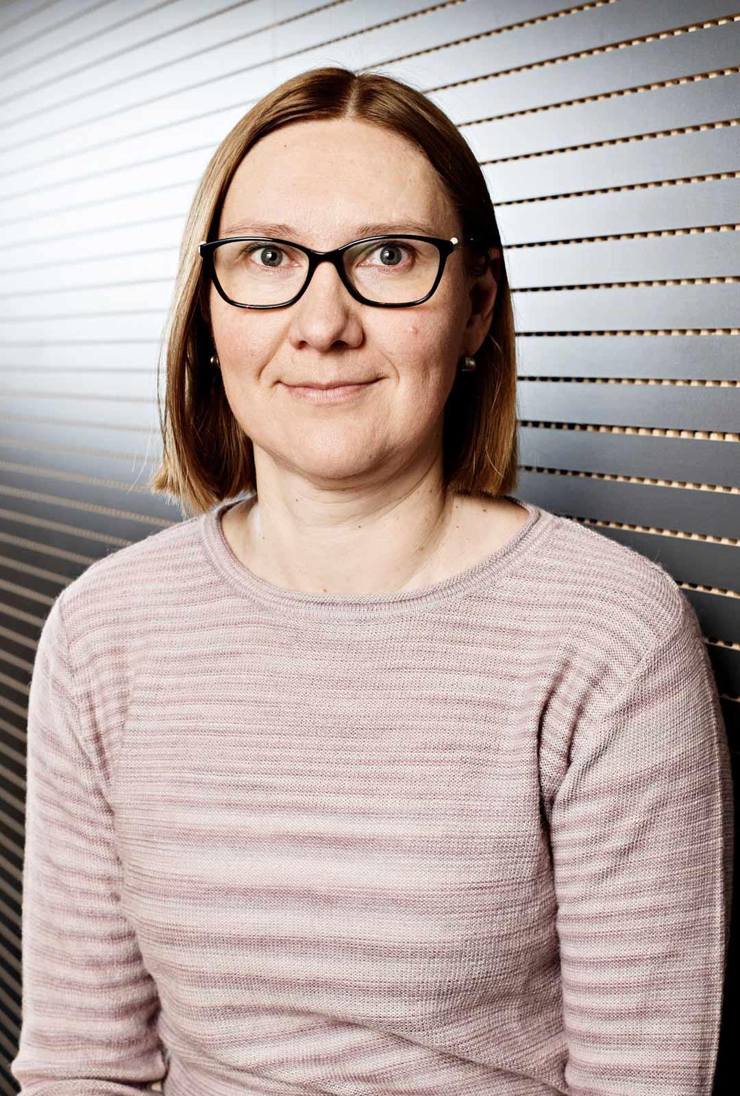 Suunnittelija Heli Starck Ikäinstituutista.