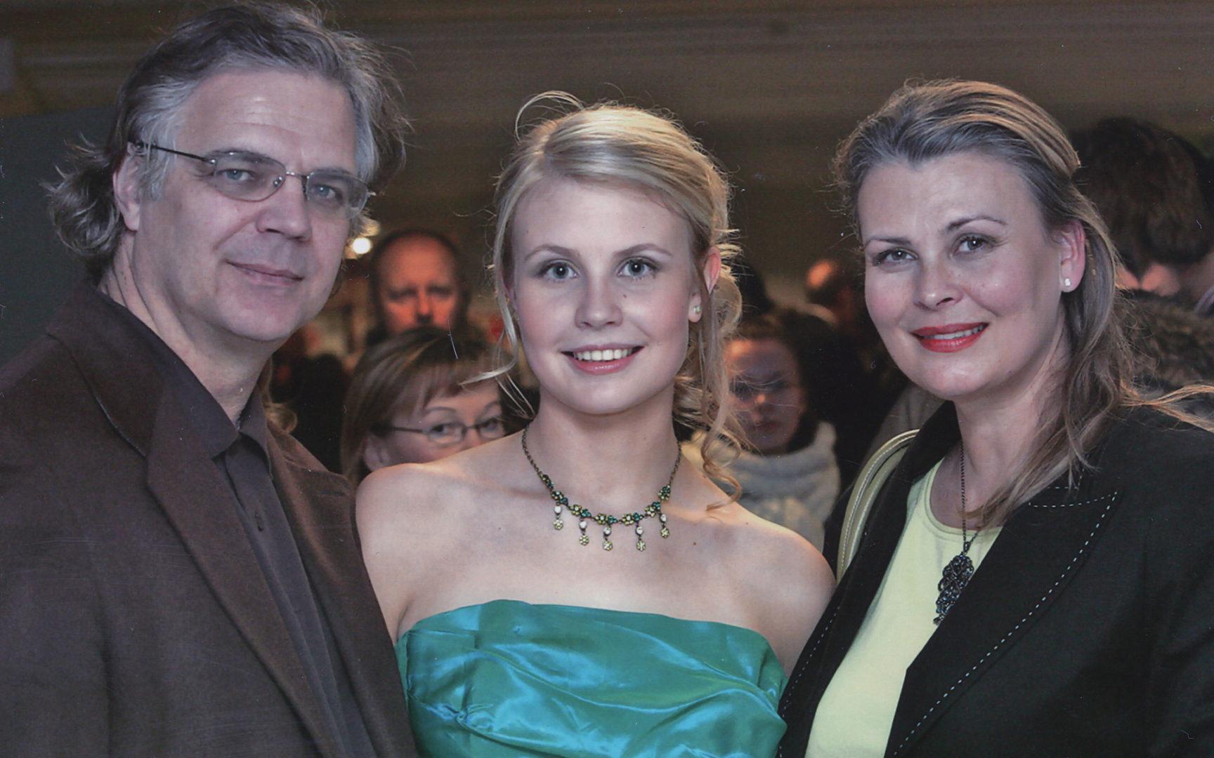 Anne Pohtamo, Arto Hietanen ja Jasmin Hietanen