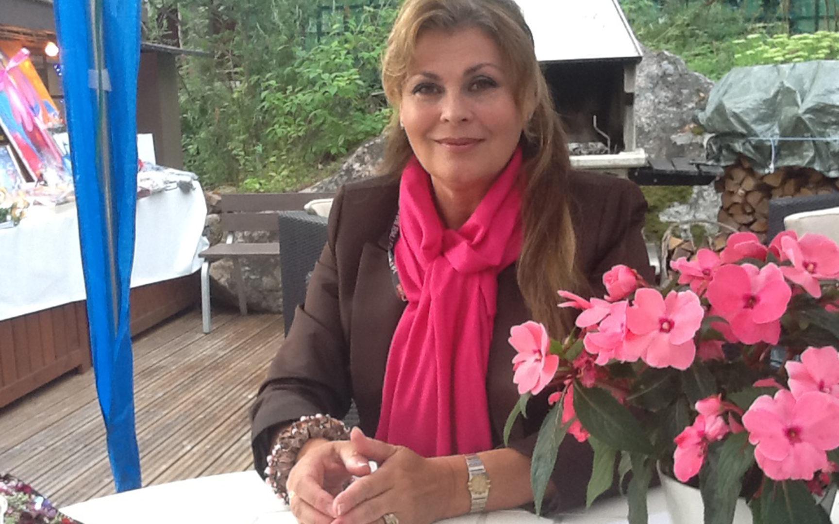 Anne Pohtamo Dannyn syntymäpäivillä
