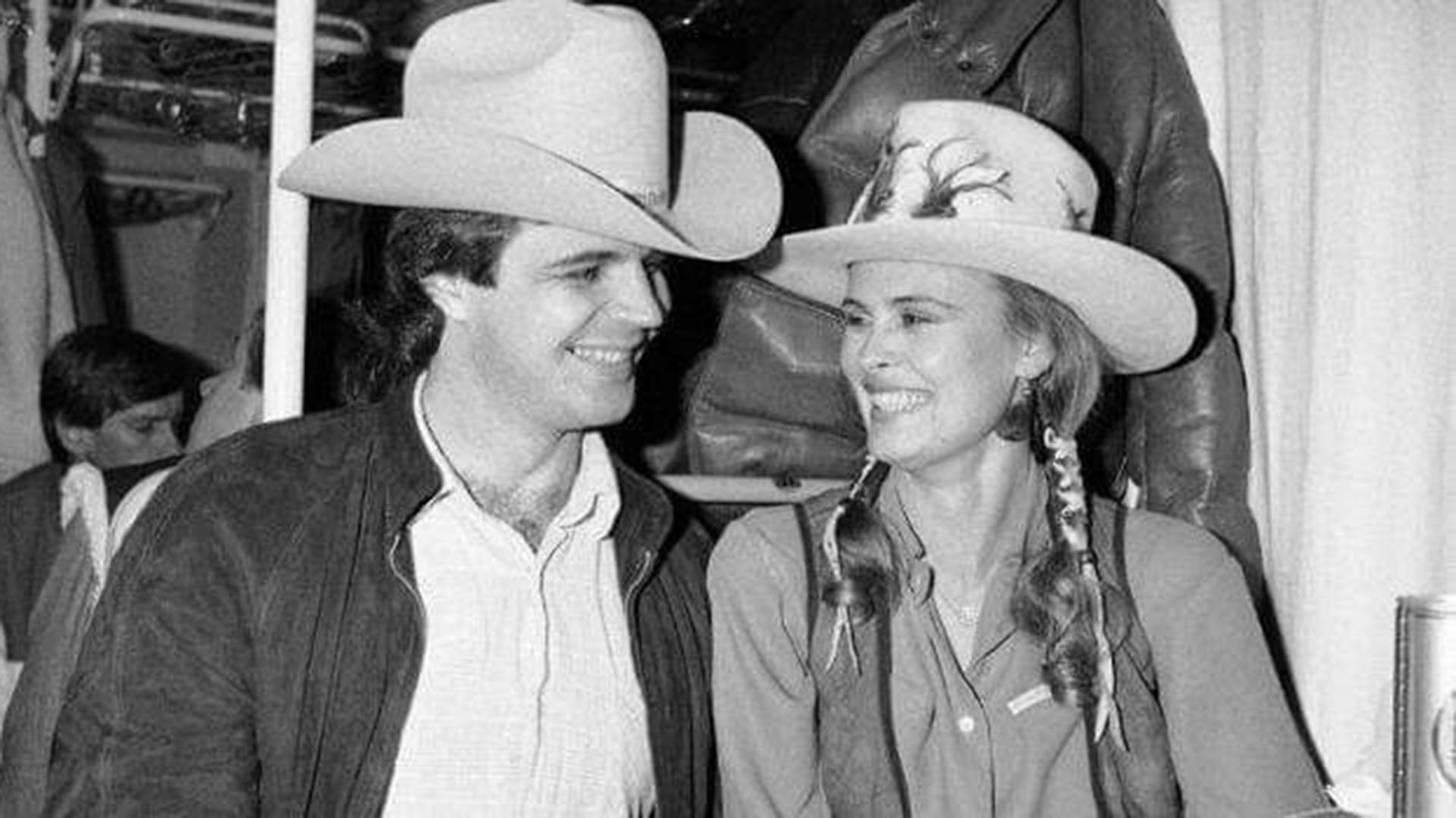Arto Hietanen ja Anne Pohtamo vuonna 1983
