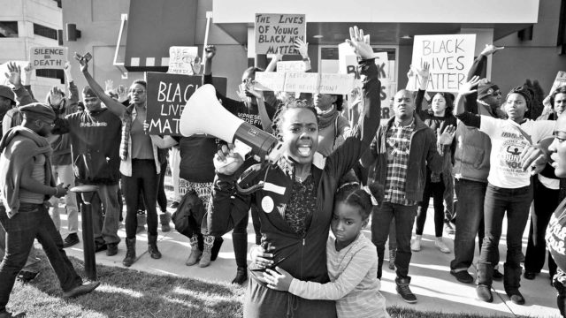 Docventures: teemana Black Lives Matter.