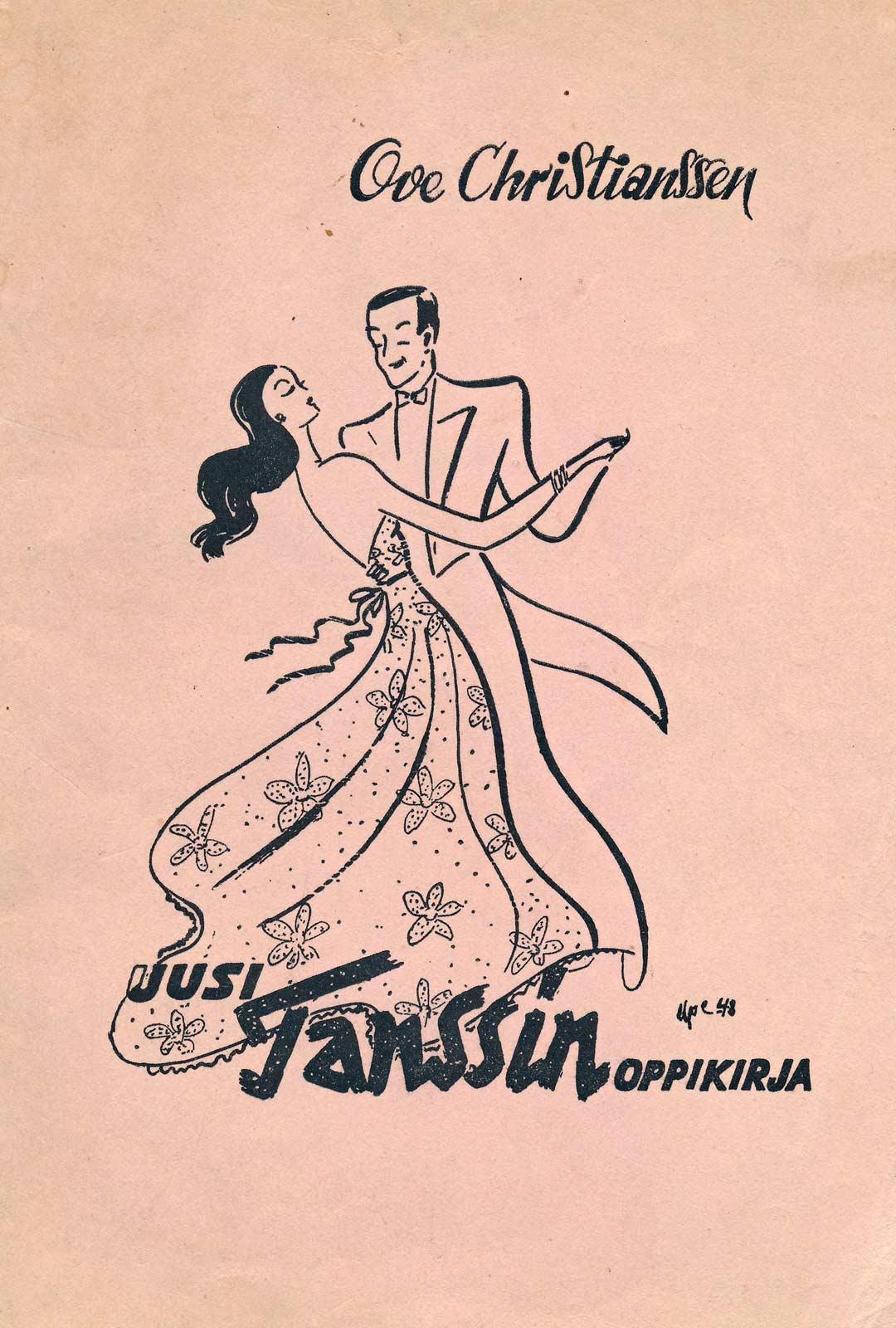 Vaikka tanssi oli tiukkaan säädeltyä, paritanssioppaat olivat suosittuja.