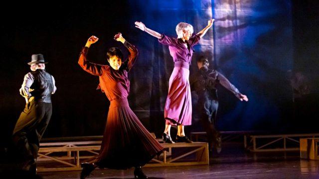 Juuri ensi-iltansa saanut Antti Lahden ohjaama tanssiesitys pohjaa sota-ajan lakiin, joka kielsi tanssimisen.