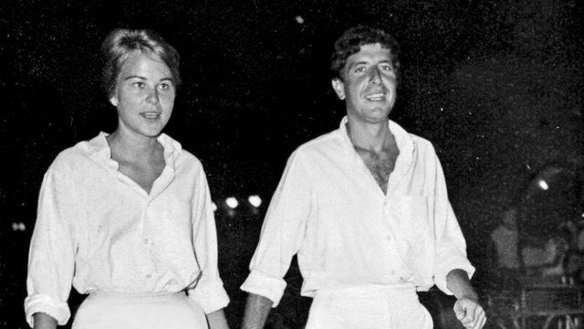 Marianne ja Leonard: sanoja rakkaudesta. Norjalainen muusa toimi inspiraation lähteenä muutamille Cohenin tunnetuimmille lauluille, kuten So Long Marianne ja Bird on the Wire. Marianne Ihlen ja Leonard Cohen Hydran illassa.
