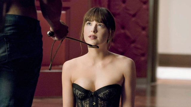 Dakota Johnson elokuvassa Fifty Shades Freed.
