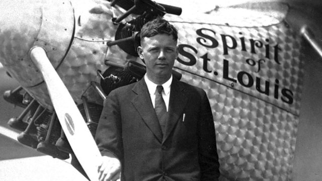 Arkistojen salat: Tapaus Lindbergh, kuvassaCharles Lindbergh.