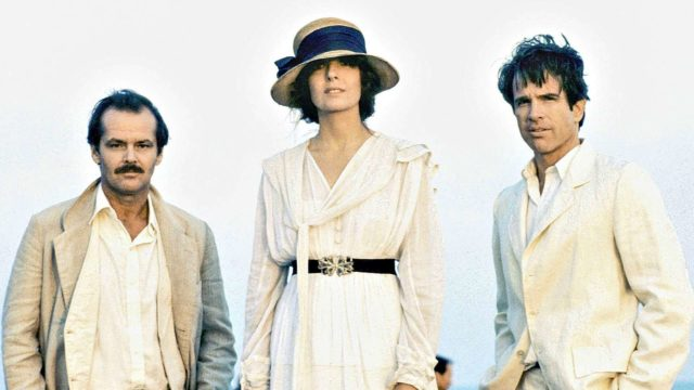 Punaiset, kuvassaJack Nicholson, Diane Keaton ja Warren Beatty.
