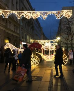 Belgrad sai joulukadun.