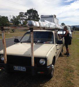 Liftaaminen on Tasmaniassa turvallista.