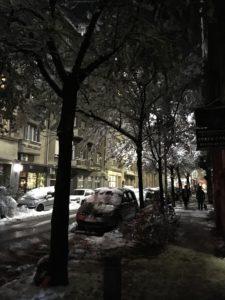 Belgrad on talvella kaunis.