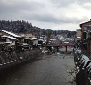 Uusi vuosi vaihtui Takayamassa.