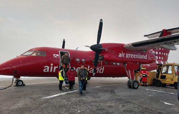 Leea ja Klaus Klemola viettävät kuukauden maailman pohjoisimmassa kaupungissa Gröönlannissa.